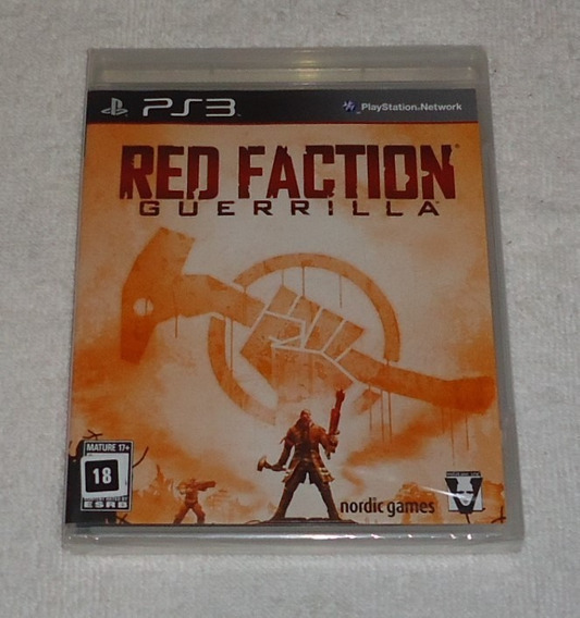 Red Faction Guerrilla Ps3 Lacrado ** Frete Gratis Leia