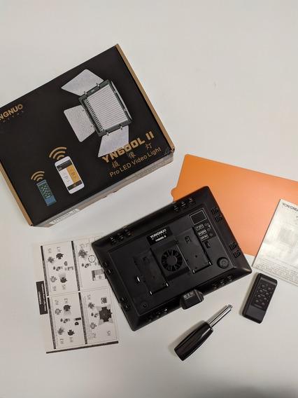 Led Yongnuo Yn600l Ll + Controle + Bluetooth - Usado