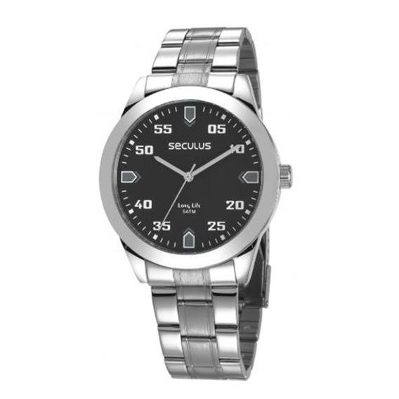 Relógio Seculus Masculino Long Life 28976g0svna1