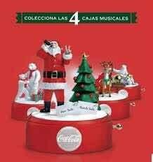 Dos Juegos De Cajitas Musicales Coca Cola