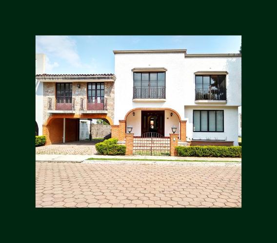 Casa Renta El Campanario Udlap Recta A Cholula Jardín 180 M2