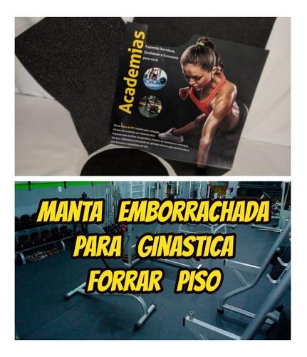 Tapete De Borracha 3mm Com 9.90x1.00mt Para Piso De Academia