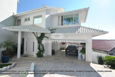 Excelente Casa De Alto Padrão Mobiliada No Bairro Itaguaçu - 3828
