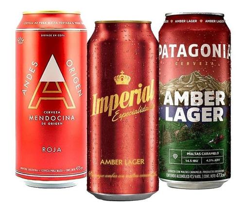Imagen 1 de 10 de Pack Rojas Mix X18 Andes / Patagonia / Imperial Tomate Algo®