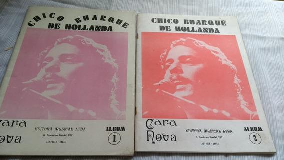 Cara Nova Album 1 E 2 Chico Buarque De Hollanda 2 Partituras