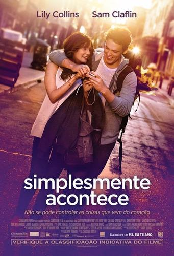 Poster/cartaz De Cinema Simplesmente Acontece Leia O Anúncio   Mercado Livre