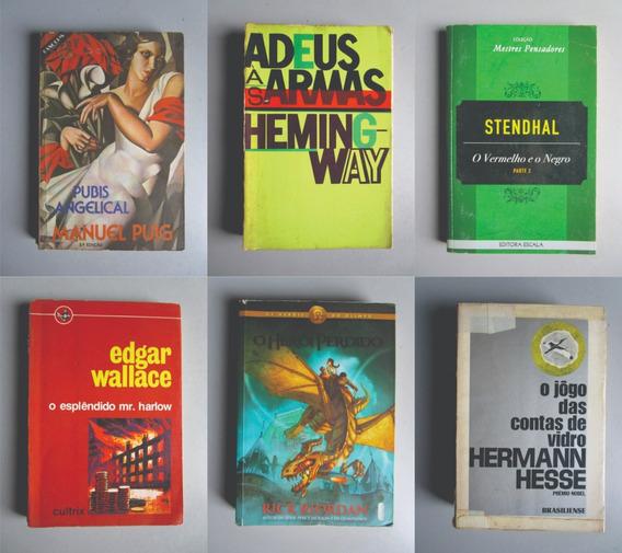 6 Livros - Literatura Estrangeira - Vários Autores - Lote 5