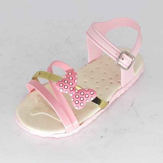 Sandalia Infantil Baby Kids Laco Minnie