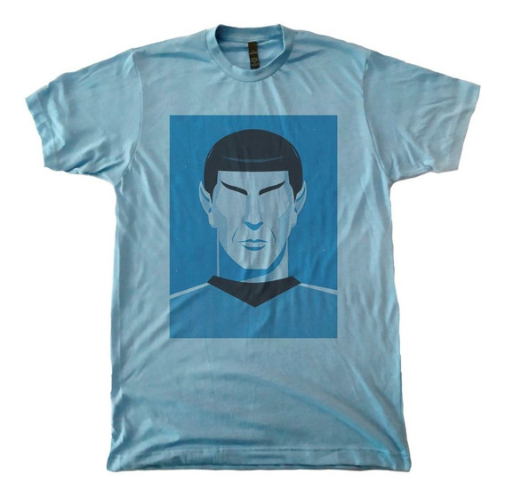 Playera Spock Face Star Trek Serie