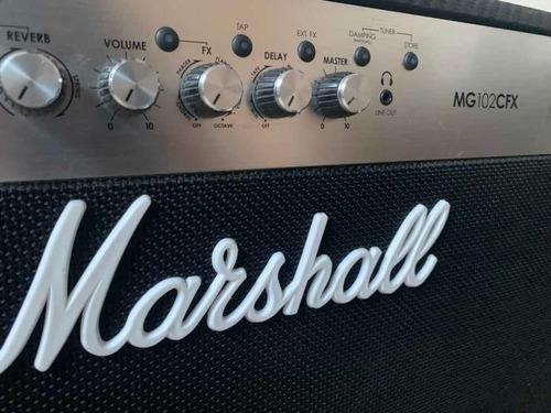 Amplificador Marshall 102cfx Seminuevo, Como Nuevo. A Tratar
