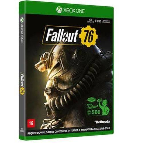 Fallout 76 - Xbox One Mídia Física Em Português