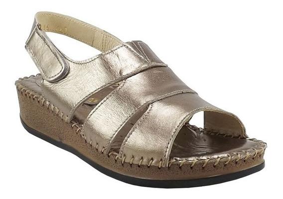 Zapato Confort Color Seda Para Mujer Macada