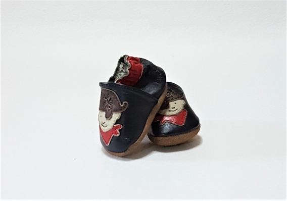 Zapato Azul Para Bebe Mod. 336-001 No. 09