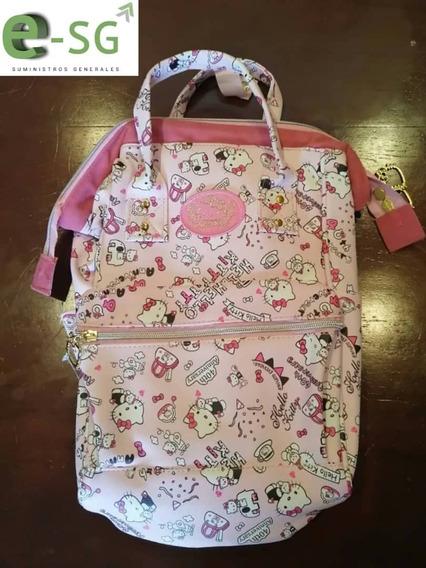 Bolso Morral Pañalera Dama M-006 Hello Kitty