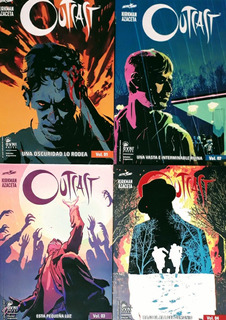 Outcast - Kirkman - #1-4 Todo Lo Publicado - Nuevo