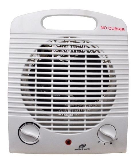 Calefactor Caloventor Económico 1000/2000 W Martin & Martin