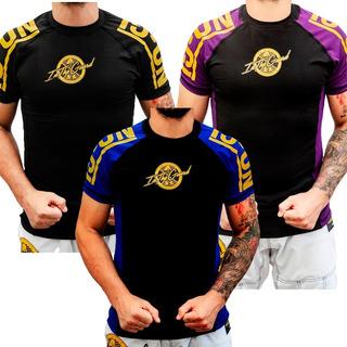 Rash Guards Jiu Jitsu - Padrão Cbjj Kit Com 3 Unidades