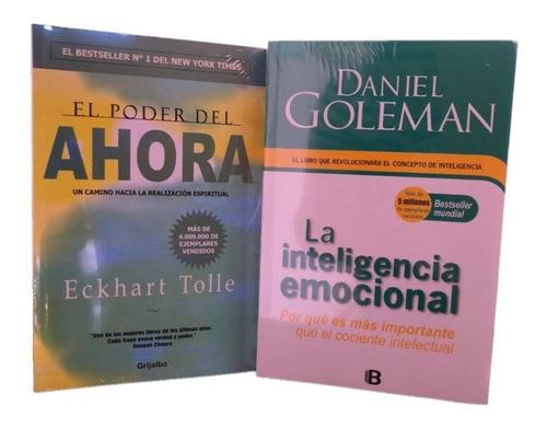 Imagen 1 de 6 de El Poder Del Ahora + Inteligencia Emocional