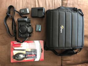 Fuji X-t2 Xt2 Com Battery Grip + Acessórios (pouco Uso)