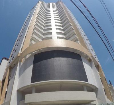 Apartamento Novo Alto Padrão Com 2 Dormitórios À Venda, 91 M² Por R$ 322.000 - Canto Do Forte - Praia Grande/sp - Ap1713