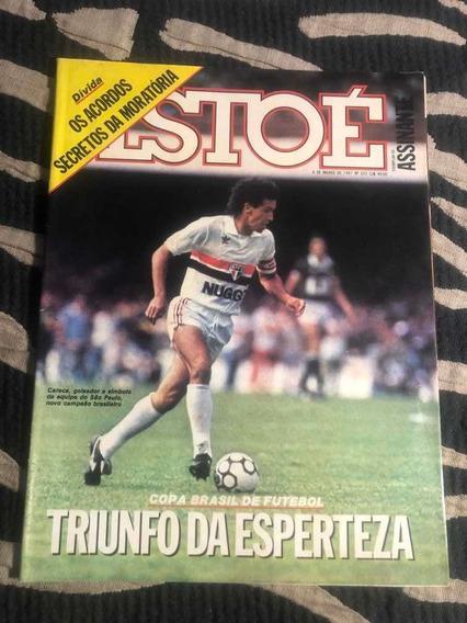 Revista Istoé 87 São Paulo Careca Tia Zica Elis Chico Cruzad