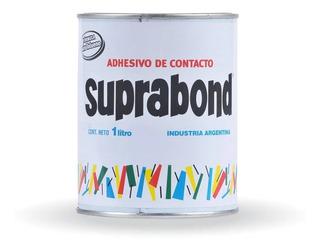 Cemento De Contacto Pegamento Sin Tolueno Suprabond 1 Litro