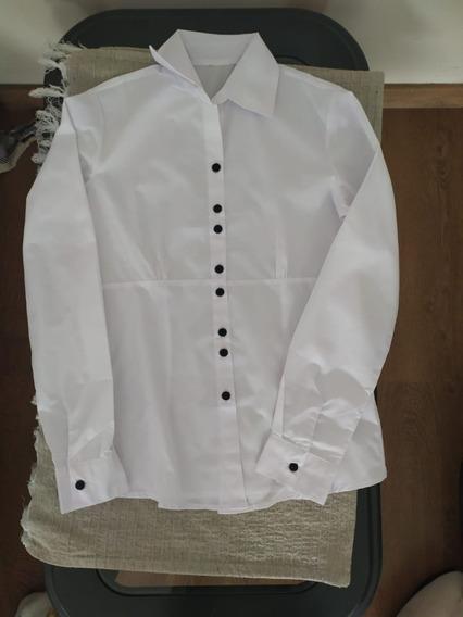 Lote De 8 Camisas Blancas Dama Nuevas (todo Por $u1000)