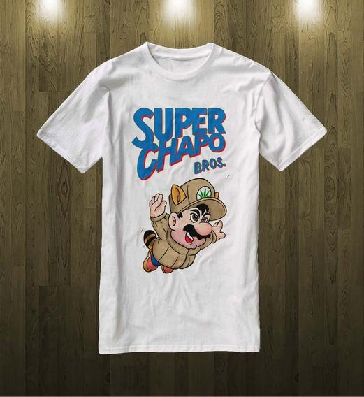 Playera Super Chapo Bros