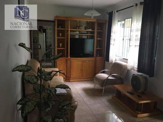 Casa Com 2 Dormitórios À Venda, 160 M² Por R$ 345.000 - Parque Novo Oratório - Santo André/sp - Ca2747
