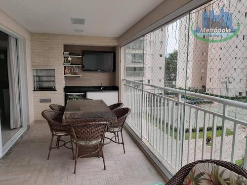 Apartamento À Venda, 110 M² Por R$ 680.000,00 - Vila Leonor - Guarulhos/sp - Ap1237