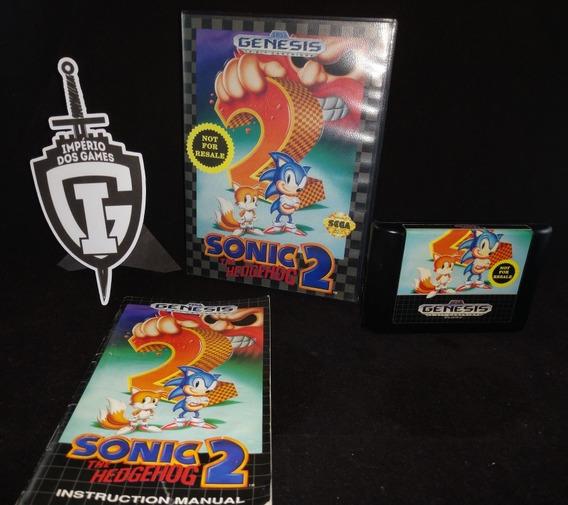 Sonic 2 - Genesis - Original - Americano - Mega Drive