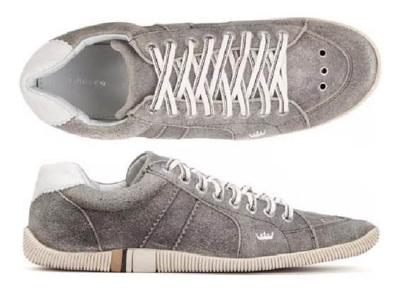 Sapatenis Tenis Osk Casual Couro Masculino