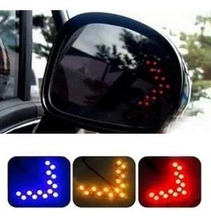 Luz Led Direccional El Par Retrovisor Carro Tuning Vehiculo