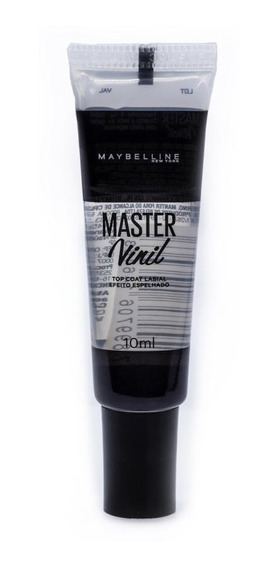 Gloss Labial Master Vinil Top Coat Maybelline 10ml