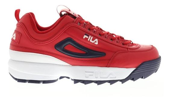 Tenis Fila Disruptor Li Premium Rojo 1fm00139 616