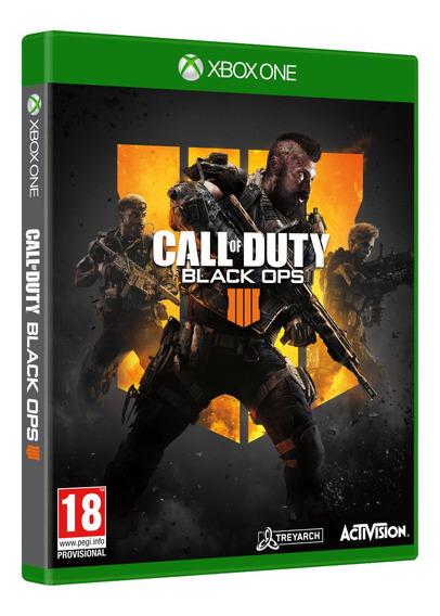 Call Of Duty Black Ops 4 Xbox One Midia Fisica Português Br