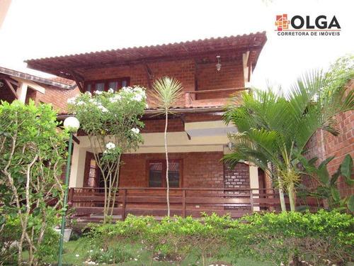 Imagem 1 de 30 de Casa Em Condomínio Com 3 Dormitórios À Venda, 100 M² Por R$ 350.000 - Santana - Gravatá/pe - Vl0028