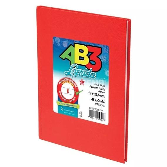 Cuaderno Laprida Abc X 50 Hojas Tapa Dura Forrado