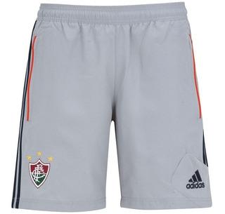 Nova Bermuda Fluminense De Treino Cinza adidas Original 2015