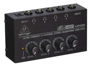 Amplificador De Audífonos Behringer Ha400 Control Volumen