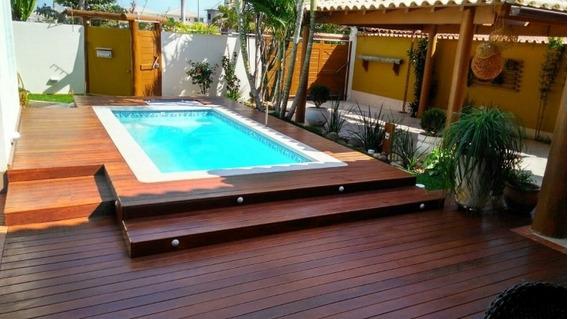 Casa Com Estilo E Bom Gosto, Projeto Para Piscina!!!! - 2760