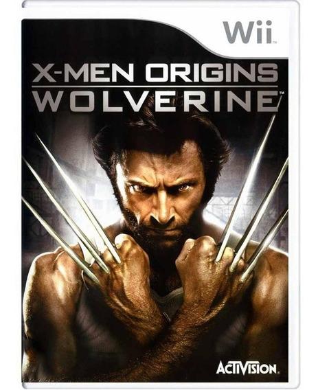 Xmen Origins Wolverine Wii Mídia Física Pronta Entrega