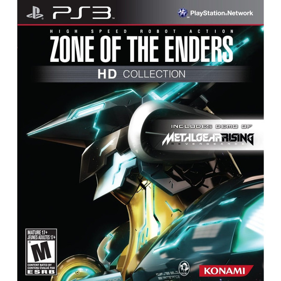 Jogo Ps3 Zone Of The Enders Hd Collection + Metalgearrising
