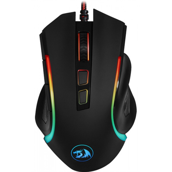 Mouse Gamer Redragon Griffin Rgb 7200dpi, M607
