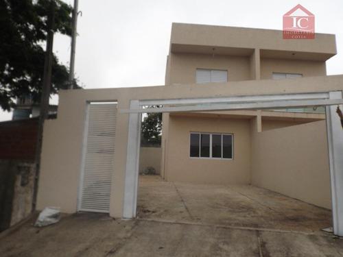 Casa Com 3 Dormitórios À Venda, 90 M² Por R$ 320.000,00 - Agreste - Vargem Grande Paulista/sp - Ca0469