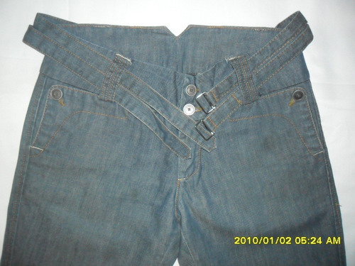 Pantalón De Jeans Sybilla