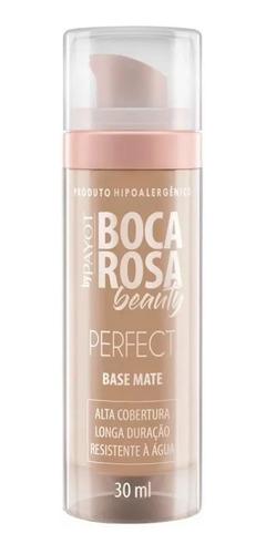 Imagem 1 de 4 de Base Mate Perfect Boca Rosa Beauty Payot Cor 3 Francisca