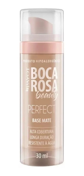 Base Mate Perfect Boca Rosa Beauty Payot Cor 3 Francisca