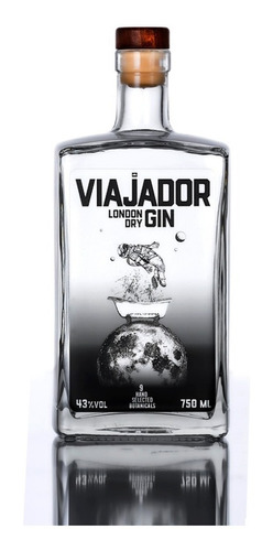 Gin Viajador Garrafa Com 750 Ml