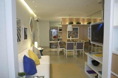 Apartamento Com 2 Dormitórios À Venda, 60 M² Por R$ 410.000 - Brás - São Paulo/sp - 13607